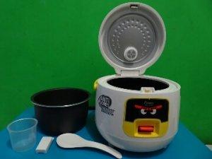 Nasi Sehat dengan  Rice Cooker Cosmos Harmond CRJ-6601 dan Cosmos 007-Pundi