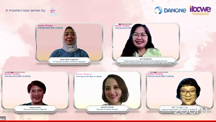 Stellar Women Entrepreneurship Academy Danone